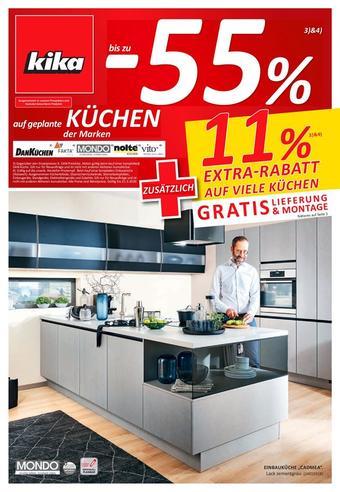 kika Werbeflugblatt (bis einschl. 31-03)