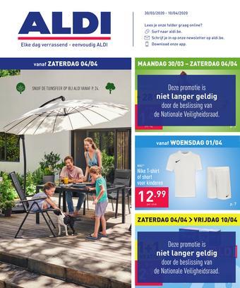 ALDI reclame folder (geldig t/m 10-04)