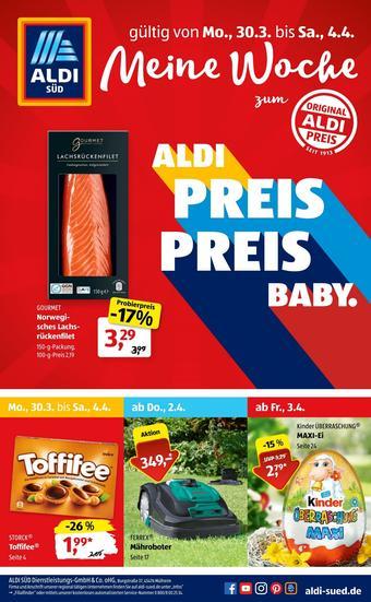 Aldi Süd Prospekt (bis einschl. 04-04)