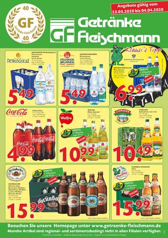 Getränke Fleischmann Prospekt (bis einschl. 04-04)