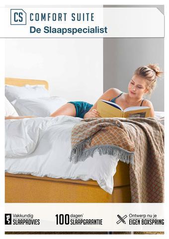 Comfort Suite reclame folder (geldig t/m 26-04)