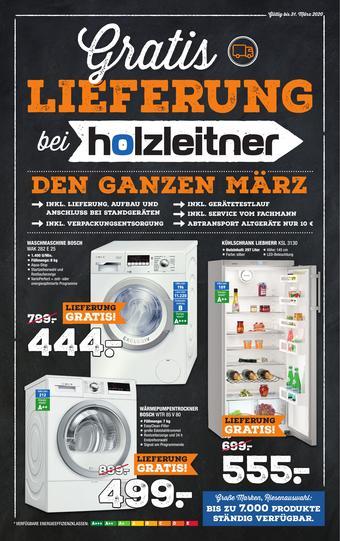 Holzleitner Prospekt (bis einschl. 31-03)