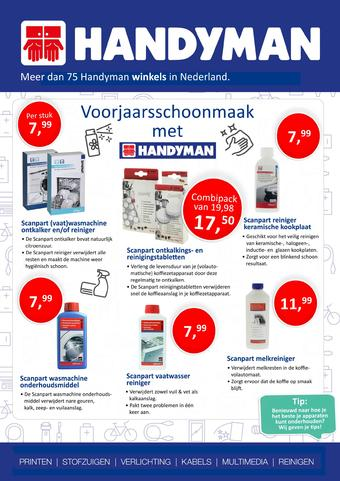 Handyman reclame folder (geldig t/m 25-04)