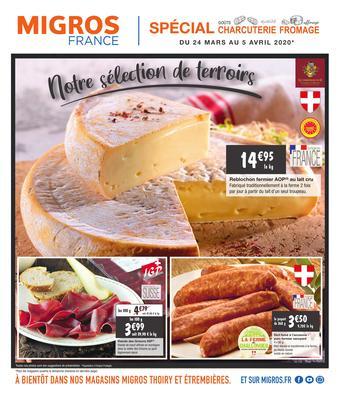 Migros catalogue publicitaire (valable jusqu'au 05-04)