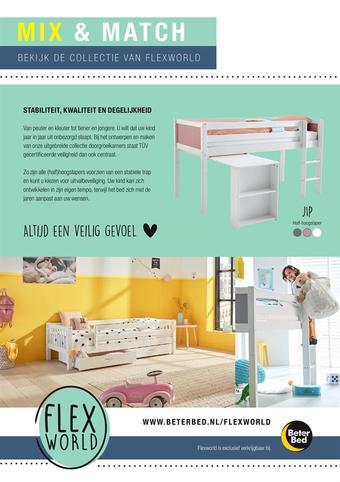 Beter Bed reclame folder (geldig t/m 30-09)