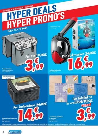 Carrefour reclame folder (geldig t/m 06-04)