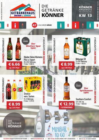 Getränkehaus Prospekt (bis einschl. 28-03)