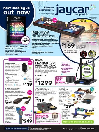 Jaycar Electronics catalogue (valid until 23-04)