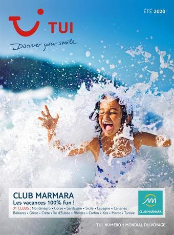 Club Marmara catalogue publicitaire (valable jusqu'au 21-09)