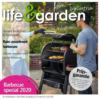 Life & Garden reclame folder (geldig t/m 03-07)