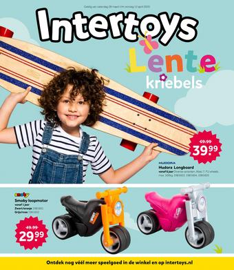 Intertoys reclame folder (geldig t/m 12-04)