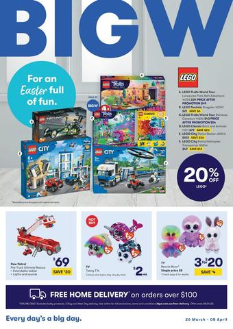 BIG W catalogue (valid until 08-04)