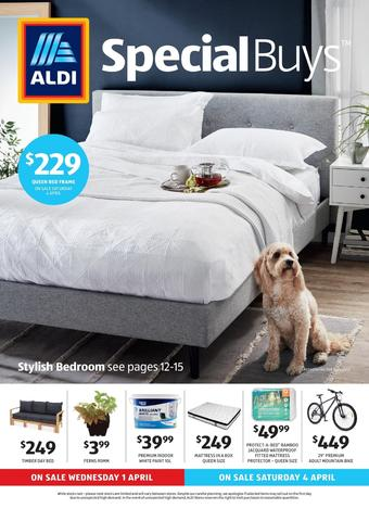 ALDI catalogue (valid until 07-04)
