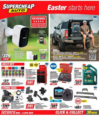 SuperCheap Auto catalogue (valid until 08-04)
