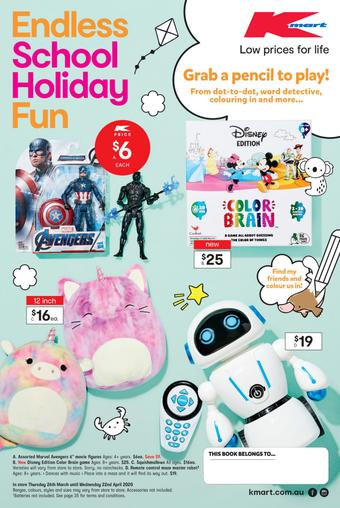Kmart catalogue (valid until 22-04)