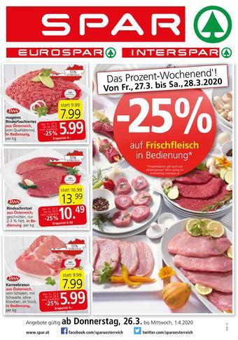 Spar Werbeflugblatt (bis einschl. 01-04)