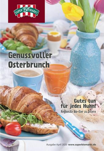 Superbiomarkt Prospekt (bis einschl. 14-04)