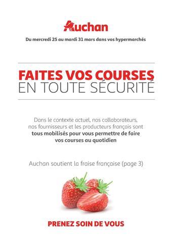 Auchan reclame folder (geldig t/m 31-03)