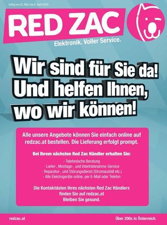Red Zac Werbeflugblatt (bis einschl. 08-04)