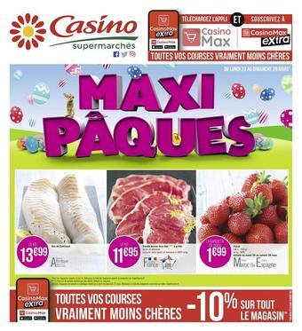 Casino Supermarchés catalogue publicitaire (valable jusqu'au 05-04)