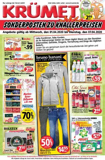 Krümet Sonderposten Prospekt (bis einschl. 07-04)