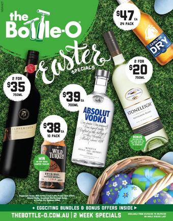 The Bottle O catalogue (valid until 05-04)