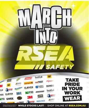 RSEA Safety catalogue (valid until 05-04)