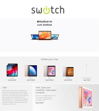 Switch reclame folder (geldig t/m 30-04)