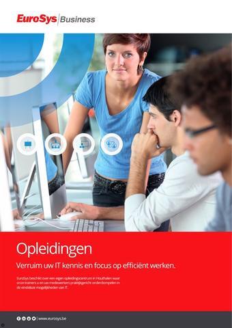 EuroSys reclame folder (geldig t/m 30-04)