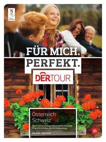 DERTOUR Werbeflugblatt (bis einschl. 31-10)