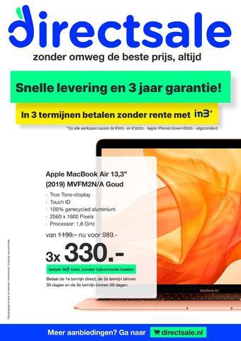 DirectSale reclame folder (geldig t/m 05-04)