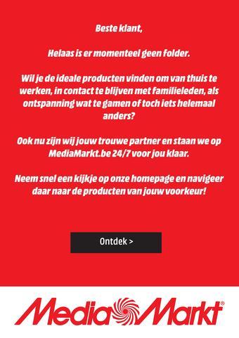MediaMarkt reclame folder (geldig t/m 30-04)