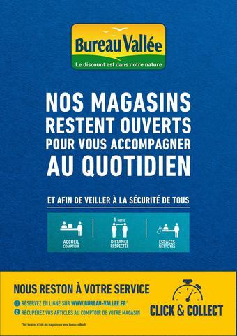Bureau Vallée catalogue publicitaire (valable jusqu'au 20-04)