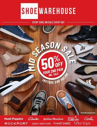 Shoe Warehouse catalogue (valid until 26-04)
