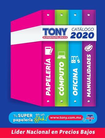 Tony Super Papelerías catálogo (válido hasta 31-12)