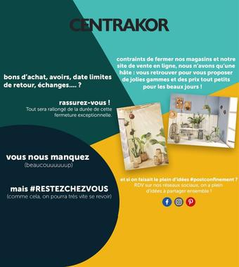Centrakor catalogue publicitaire (valable jusqu'au 20-04)