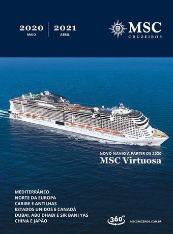 MSC Cruzeiros catálogo promocional (válido de 10 até 17 30-04)