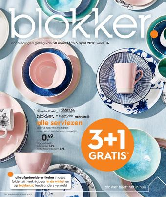 Blokker reclame folder (geldig t/m 05-04)
