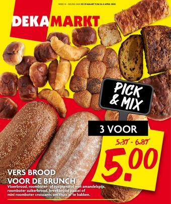 Dekamarkt reclame folder (geldig t/m 04-04)