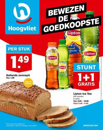 Hoogvliet reclame folder (geldig t/m 07-04)