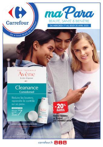 Carrefour catalogue publicitaire (valable jusqu'au 30-04)