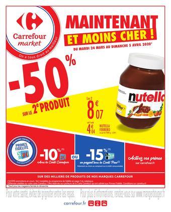 Carrefour Market catalogue publicitaire (valable jusqu'au 05-04)