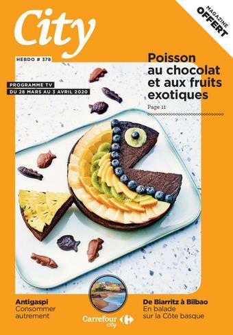 Carrefour City catalogue publicitaire (valable jusqu'au 03-04)