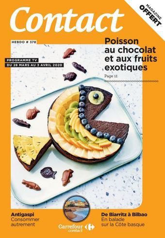 Carrefour Contact catalogue publicitaire (valable jusqu'au 03-04)