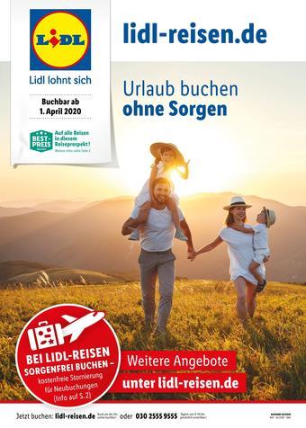 Lidl Reisen Prospekt (bis einschl. 30-04)