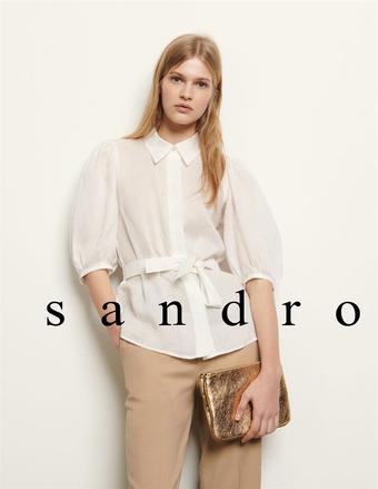 Sandro catalogue publicitaire (valable jusqu'au 21-04)