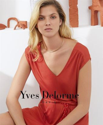 Yves Delorme catalogue publicitaire (valable jusqu'au 26-05)