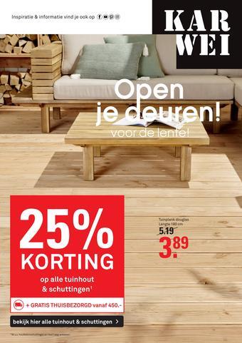 Karwei reclame folder (geldig t/m 05-04)