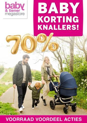 Baby & Tiener reclame folder (geldig t/m 04-04)