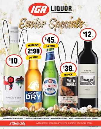 IGA Liquor catalogue (valid until 07-04)